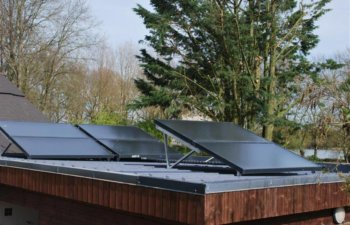 new-solar-thermal-installation