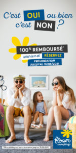 Offre 100% remboursé camping du lac de la chausseliere